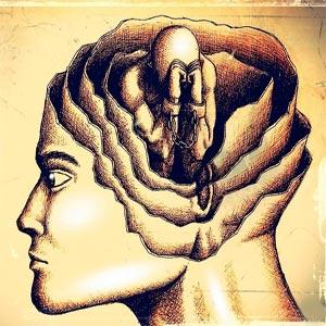 انسان اسیر لایه های ذهنی، تعصبات و پیش فرض های خود