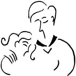 نقاشی پدر و دختر